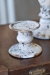 Earth Stone Pillar Candle Holder | 3.5