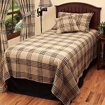 Chesterfield Check Bedcover Queen
