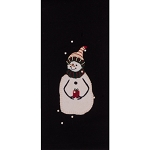 A Gift Towel Black
