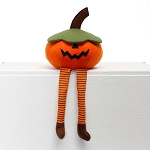 JACK-O PUMPKIN WITH FLOPPY LEGS LARGE 8