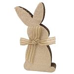 Small Cutout Bunny - 9 x 5 in