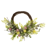 Spring Gumball Wreath - 12 in