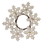 Snowflake Candle Mini Ring - 1.5 in