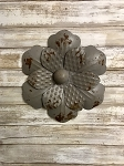 Metal Wall Flower 11