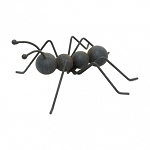 Speckled Metal Ant Art 6.75 x 6.3 x 2.75