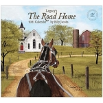 The Road Home 2021 Wall Calendar by Billy Jacobs