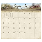 The Road Home 2021 Magnetic Calendar Pad by Billy Jacobs