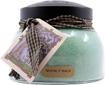 A Cheerful Giver Moonlit Walk 22 oz Mama Jar Candle, Green