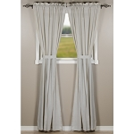 Heirloom Grey Drapery Panel 86