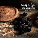 2021 The Simple Life Wall Calendar by Irvin Hoover
