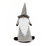 WIZARD GNOME WITH STAR HAT AND WOOD NOSE 11