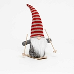 KRIS GNOME WITH RED/WHITE STRIPE HAT 11.5