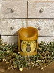 Mustard Timer Battery Candle 3