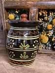 Redware Canister 5.75