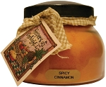 A Cheerful Giver Spicy Cinnamon Mama Jar Candle, 22-Ounce