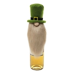 ST PATTY GNOME BEER BOTTLE TOPPER 3.5