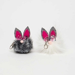 BUNNY CRITTER with Keychain SMALL 2
