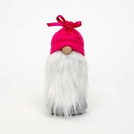 MCGNOME with PINK TIED HAT and WOOD NOSE SMALL 2.25