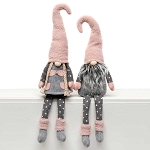 POKA AND DOT GNOME COUPLE with FLOPPY LEGS 2 Assorted BOY/GIRL LARGE 5