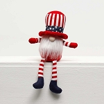 UNCLE SAM GNOME with AMERICANA HAT and FLOPPY LEGS 8