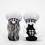 CHEF and CHEFETTE GNOME 2 Assorted BOY/GIRL SMALL 3.5