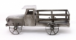 Galvanized Truck - 11.5 in x 5.5 in wide x 4.5 in tall
