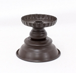 Large Black Candle Holder - 4.25 in. x 16 in.