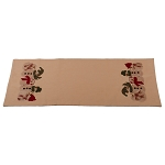 Family Of 5 Table Runner Nutmeg