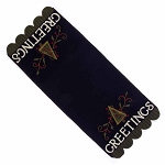Greetings Table Runner