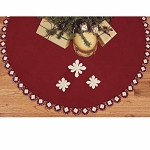 Snowflakes Tree Skirt