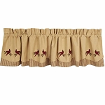 Ticking Cardinal Fairfield Valance