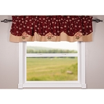 Merry Christmas Osenburg Fairfield Valance