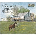 Country Path 2021 Wall Calendar