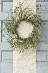 Ice Glazed Cedar Wreath | 24