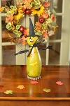 Fiona Witch Handmade Gourd - Medium Tall Lit
