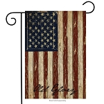 Old Glory Garden Flag