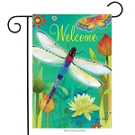 Dragonfly Dream Garden Flag