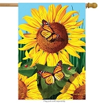 Sunflower Field House Flag