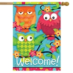 Treetop Welcome House Flag
