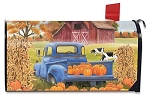 Pumpkin Patch Pickup Mailbox Cover