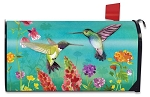 Hummingbird Greeting Mailbox Cover