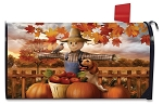 Autumn Scarecrow Mailbox Cover