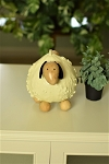 Shelby - Small Sheep Handmade Gourd