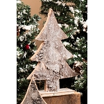 Sm Birch Bark Tree - 9inH