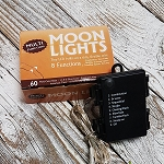 60 Bulb 11.5ft Battery Operated Moon Light Multi Color with Multi Function