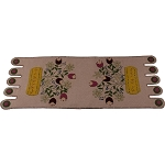 Spring Bouquet Nutmeg Table Runner