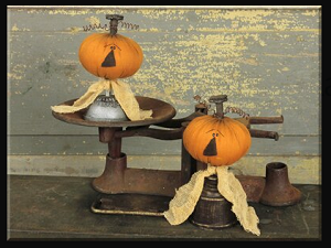 Small Gear Jack-O-Lantern Spindle