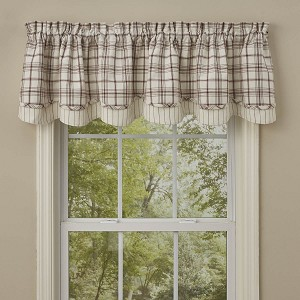Apple Orchard Lined Layered Valance