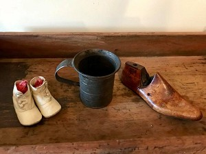 Antique childs shoes