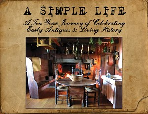 ***HARDCOVER BOOK***  A Simple Life Magazine Celebrating 10 Years